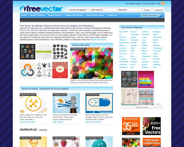 15+ Best Websites for Download Free Vector Files 2019