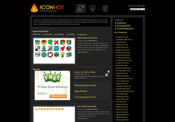 15 Best Websites Download Free Icons - DesignMaz