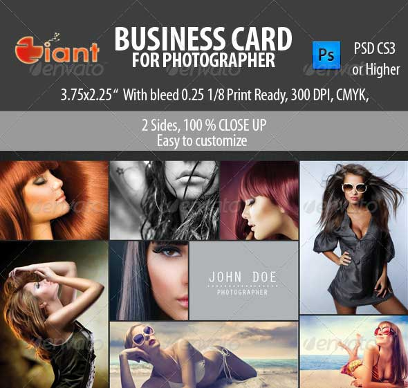 65 best business card for photographers 2016 designmaz business card for photographer this is fit for photographers models and anyone who loves photo collages a corporates and creatives company business card colourmoves