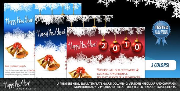 New years newsletter templates | mycreativeshop.