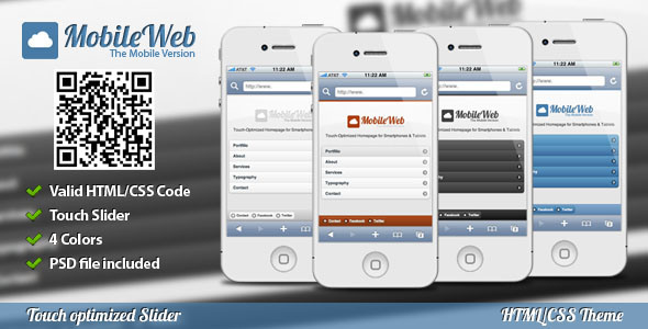 Best Mobile Website Templates DesignMaz - Website template builder