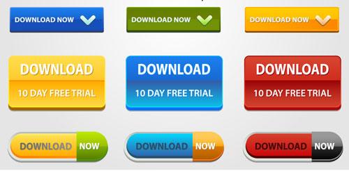 Best Web Buttons Design - DesignMaz