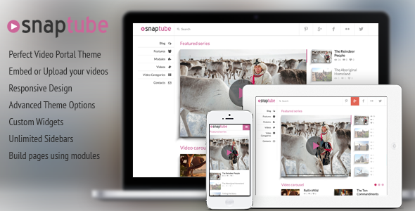 35+ Best Video WordPress Themes - DesignMaz