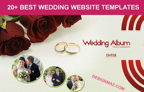 wedding websites templates