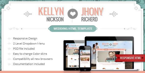 10 Best Wedding Website Templates 2014 Designmaz