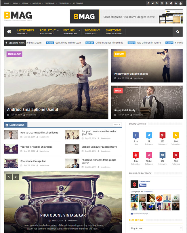blogger templates free download 2014