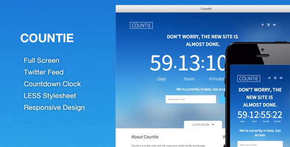 55+ Best Responsive Coming Soon HTML Templates 2015
