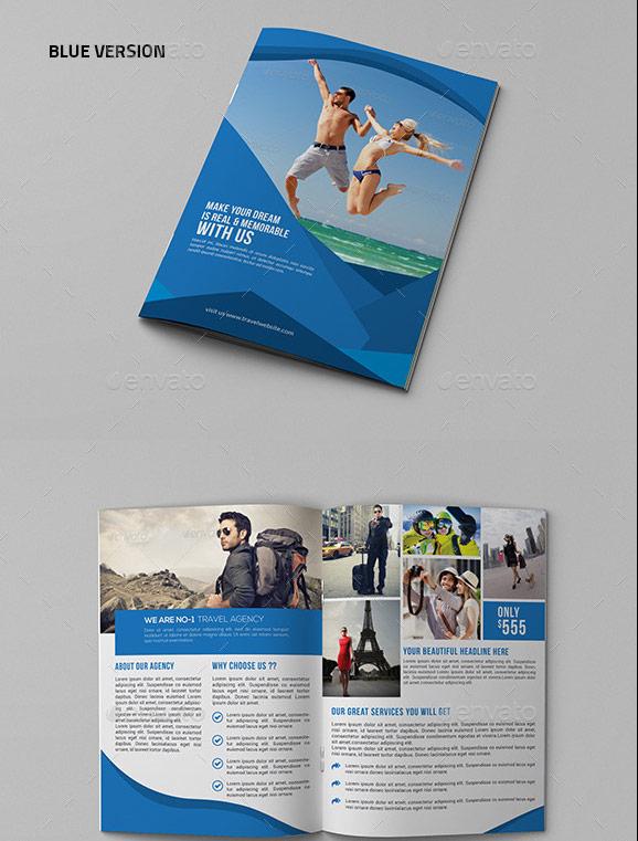 Best Travel And Tourist Brochure Design Templates Designmaz - Easy brochure template