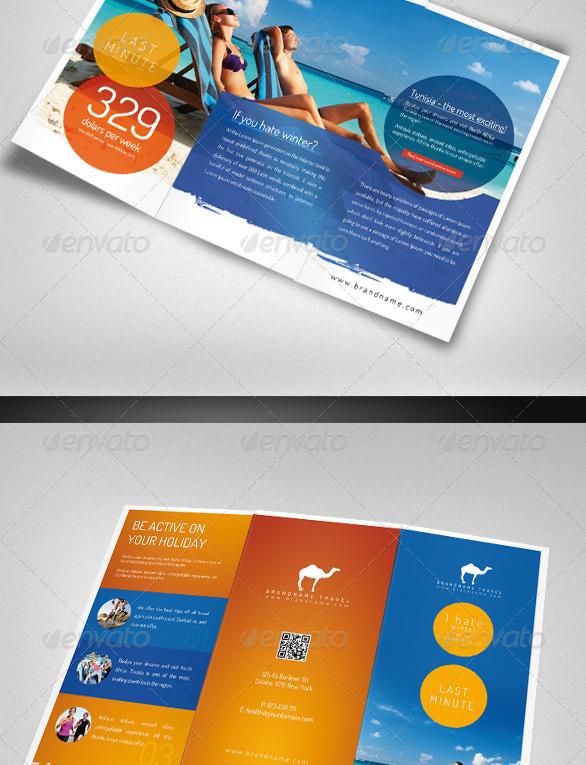 40+ Best Travel and Tourist Brochure Design Templates 2019 - Designmaz