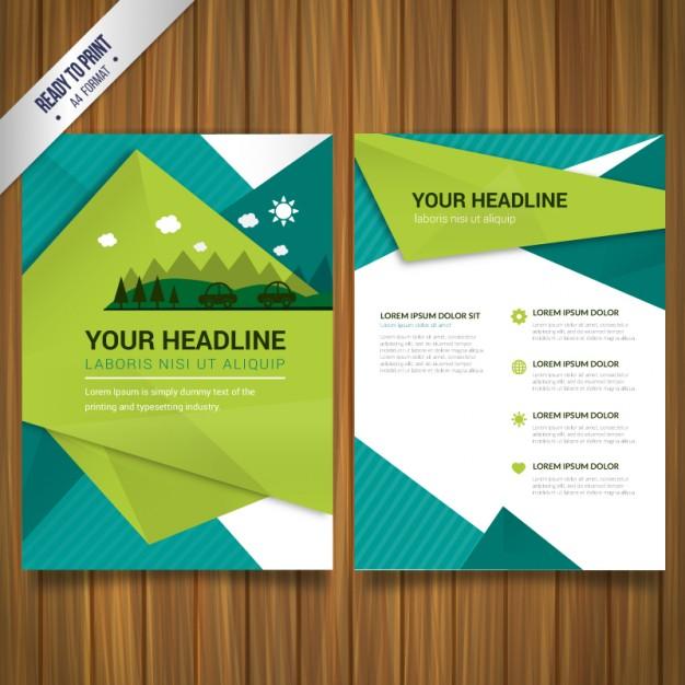Free Brochure Vector Design Templates DesignMaz - Free download brochure design templates
