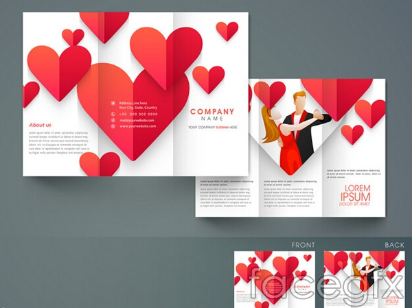 Free Brochure Vector Design Templates DesignMaz - Brochure design templates