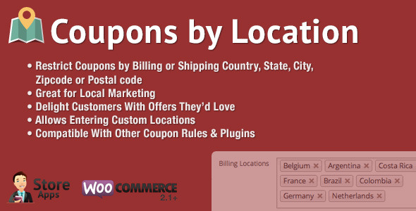 Woocommerce display coupons