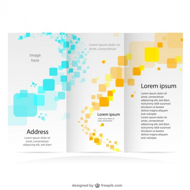 30+ Free Brochure Vector Design Templates - DesignMaz