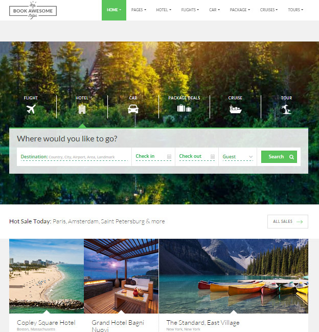 20 best html responsive booking templates for travel. Black Bedroom Furniture Sets. Home Design Ideas
