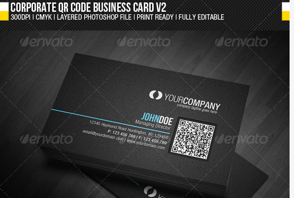 15 corporate business card design templates designmaz