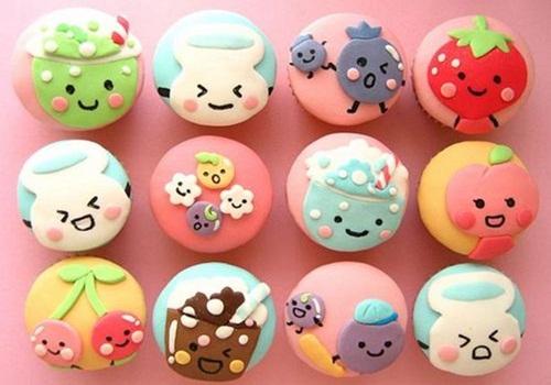 Simple cupcake decor