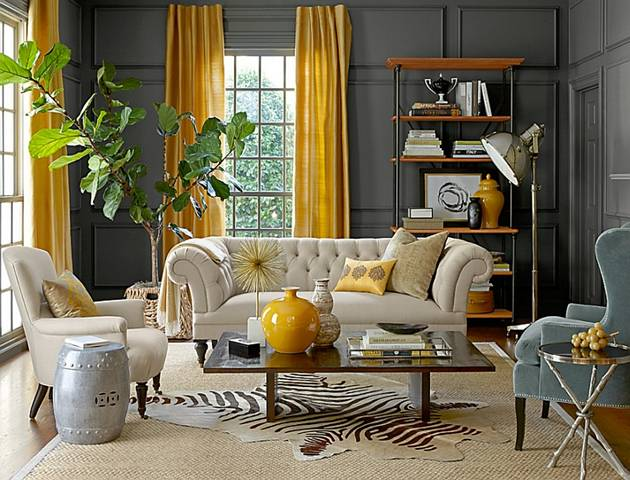 10 Unique Styles For Decorating The Living Room 2016 - DesignMaz