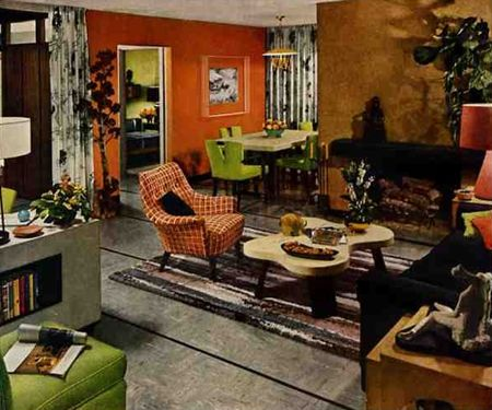 British trends in interior design from 1950s to 2014 for Fashion for home uk