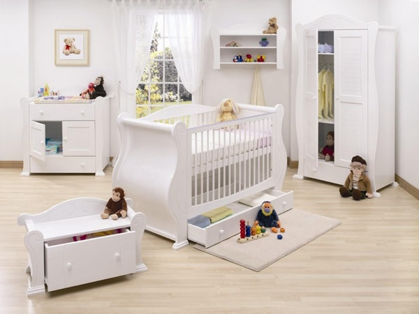 15 creative bedroom designs for baby or toddler designmaz for Ideen babyzimmer