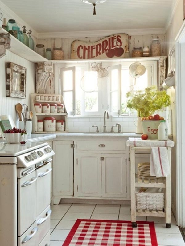 20 Beautiful Design Ideas For Small Kitchens - DesignMaz