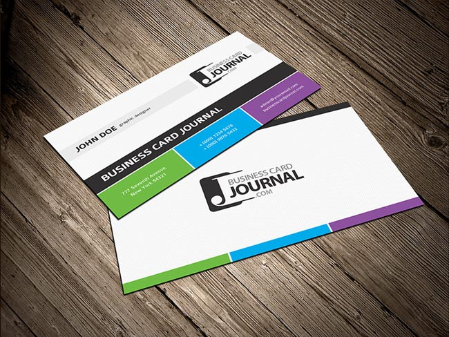 55 free creative business card templates designmaz for Business card layout template