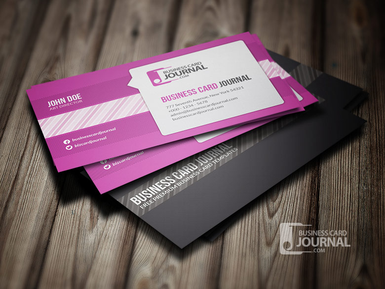 Free Creative Business Card Templates DesignMaz - Professional business cards templates