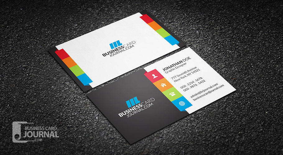 55 free creative business card templates designmaz an amazing multi color business card template for those who prefer a touch of creativity coupled with vibrant colors the layout is super clean and can be reheart Choice Image