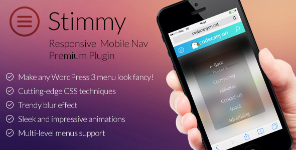 20+ Best WordPress Mobile Menu Plugins for 2015 - DesignMaz