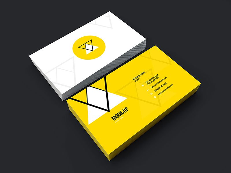 25 free psd business card template designs designmaz