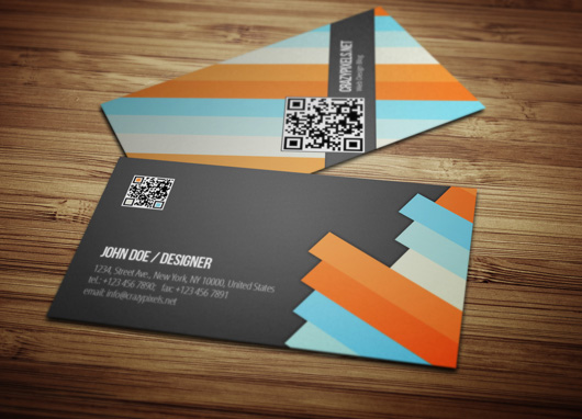 Free Psd Business Card Template Designs