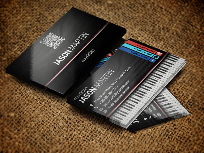 Free PSD Business Card Template Designs DesignMaz - Business card psd template
