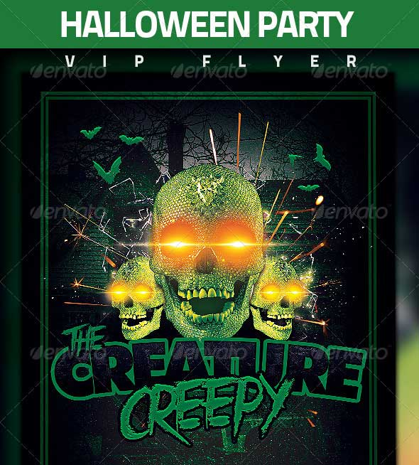 7 Best Philadelphia Flyers Themed Party Images On: 45+ Best Halloween PSD Party Flyer Templates 2016