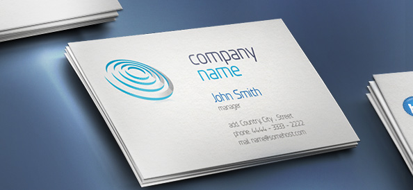 Free PSD Business Card Template Designs DesignMaz - Free business card layout template