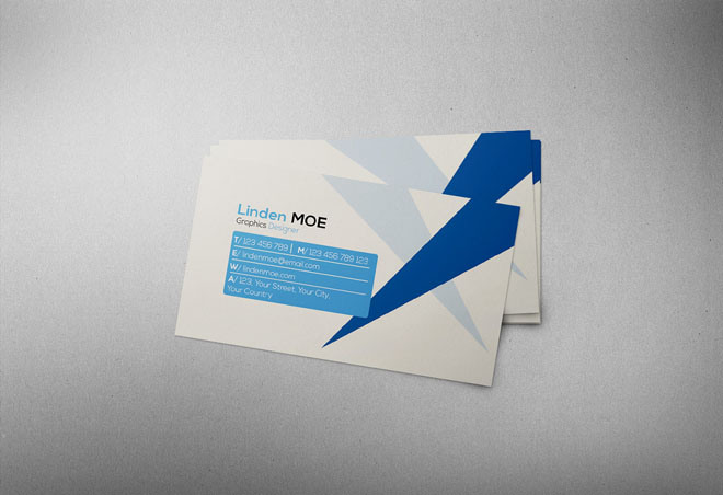 25 free psd business card template designs designmaz for Business card presentation template psd