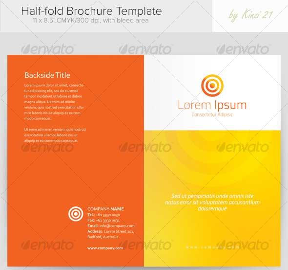 Best Premium Printed Brochure Templates DesignMaz - 5 fold brochure template