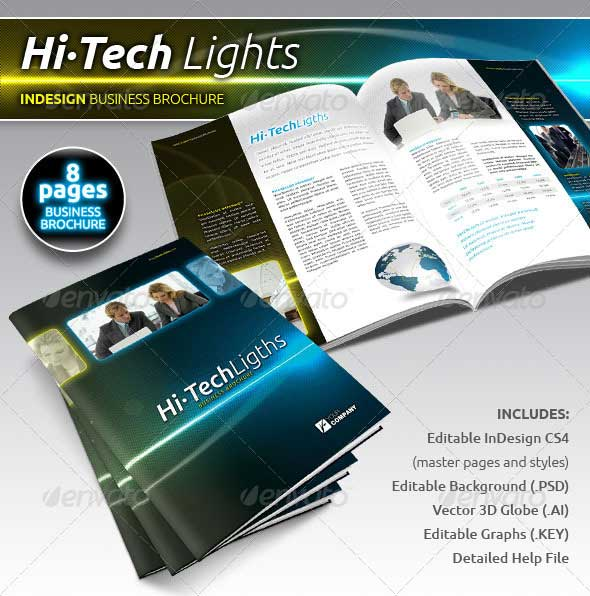 30 best premium printed brochure templates designmaz for Technical brochure template