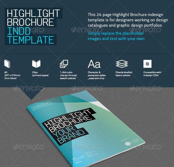 Best Premium Printed Brochure Templates DesignMaz - One page brochure templates