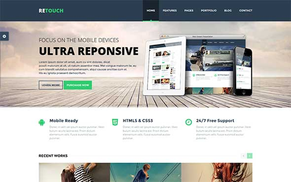 25 Latest Bootstrap Themes Free Download - DesignMaz