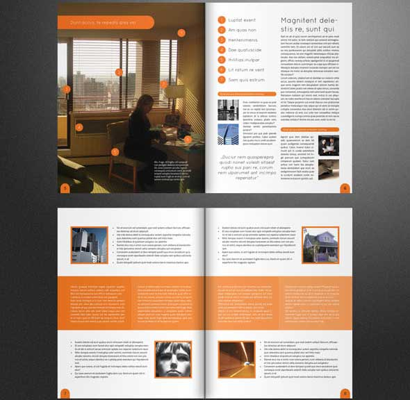 Creative PSD Brochure Templates For Free DesignMaz - Company brochure templates free download