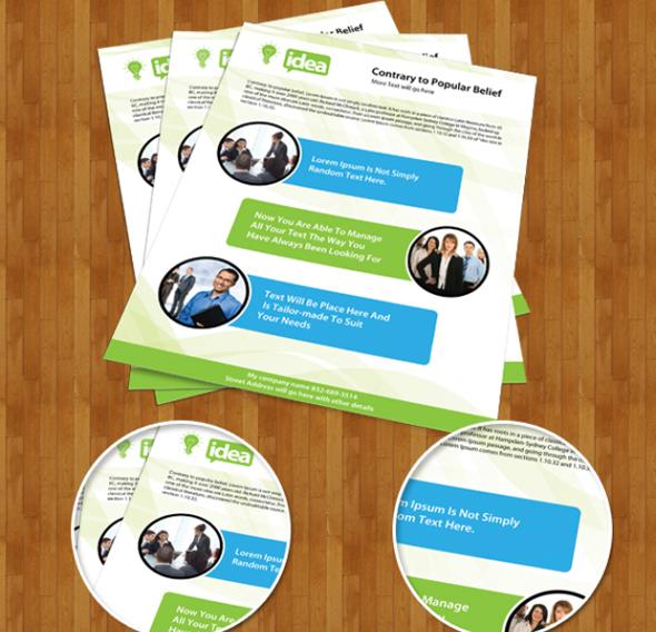 Creative PSD Brochure Templates For Free DesignMaz - Brochure template photoshop free