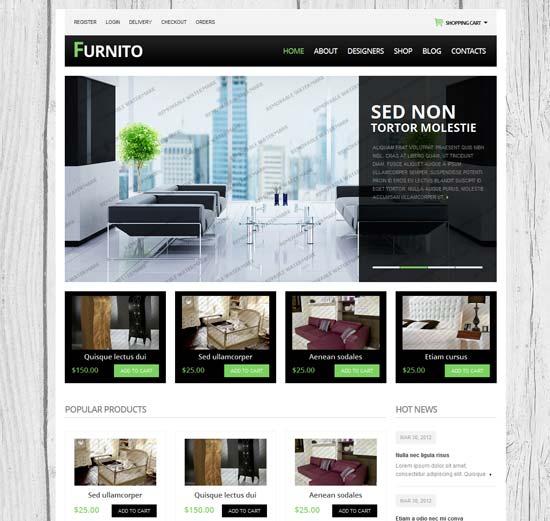 free drupal templates ecommerce