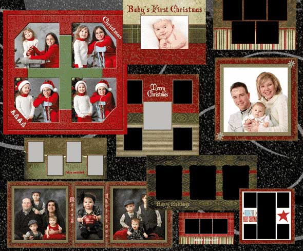 Free Christmas Card Templates.30 Free Psd Christmas Card Templates Designmaz