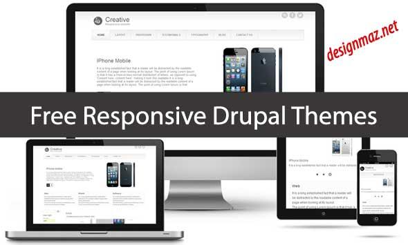 20 Free Responsive Drupal Themes Designmaz