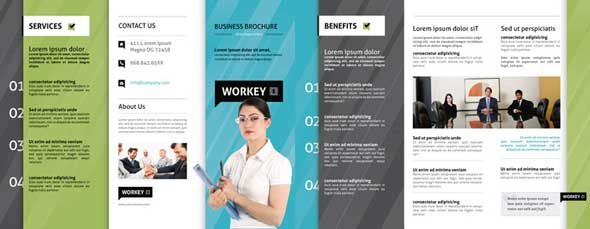 Creative PSD Brochure Templates For Free DesignMaz - Psd brochure template