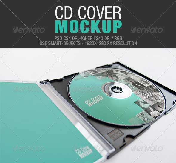 30+ Amazing CD Cover PSD Design Templates - DesignMaz