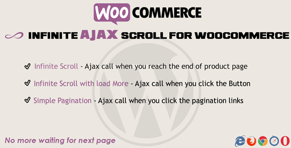 how to add pagination to woocommerce