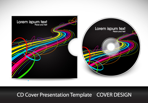 cd cover template psd free download
