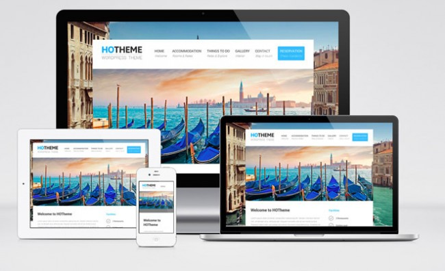 10 best free hotel wordpress themes 2017 designmaz free responsive hotel wordpress themes pronofoot35fo Image collections