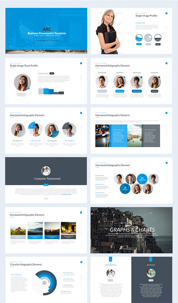 35 amazing powerpoint templates 2017 designmaz keynote business powerpoint template toneelgroepblik Gallery