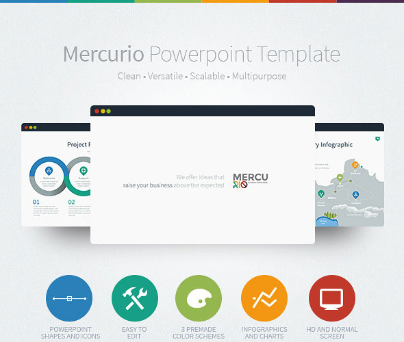 Awesome Powerpoint Slide Templates: 35+ Amazing Powerpoint Templates 2017